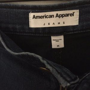 American Apparel denim jeggings